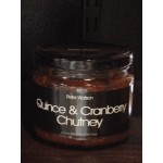 Quince & Cranberry Chutney