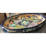 Moroccan Hand Painted Serving Plate