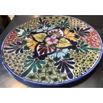 Hand Painted Moroccan Flat Plate